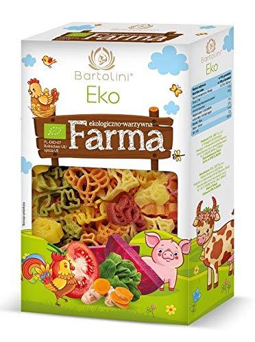 Pasta (sémola con verduras secas) para niños FARMA BIO 250 g - BARTOLINI