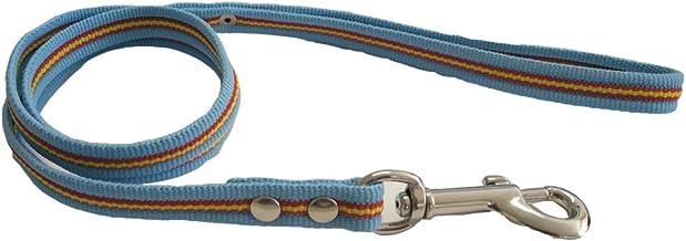 Global Correa de Perro Bandera de España Color Celeste | Ramal para Collar de Perro de algodón | Ramal de 1 m: Amazon.es: Productos para mascotas