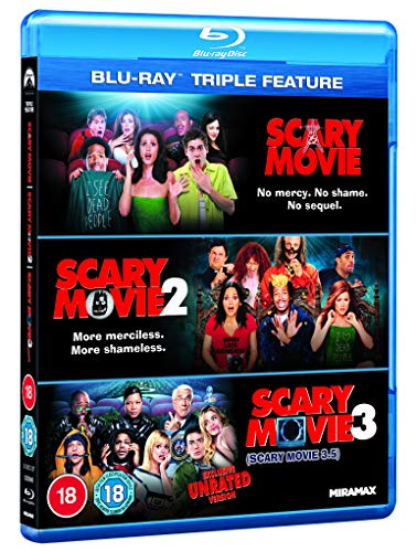 Scary Movie 3-Movie Collection [Blu-ray] [2020]