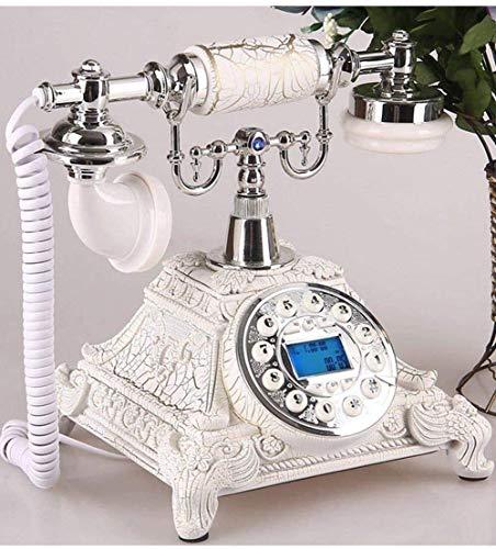 Teléfono Inicio Teléfono Retro Estilo Teléfono Retro Vintage Estilo Antiguo Flor Botón Botón Antiguo Vintage Vintage Teléfono fijo - Inicio Oficina Hogar Decoración Decoración Escritorio Teléfono Líne