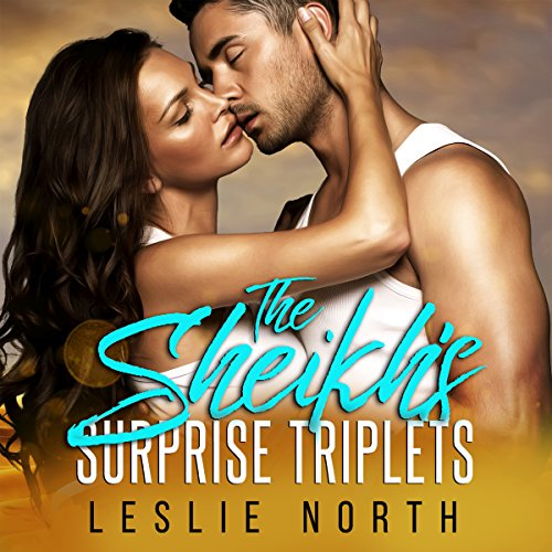 The Sheikh's Surprise Triplets audiobook cover art