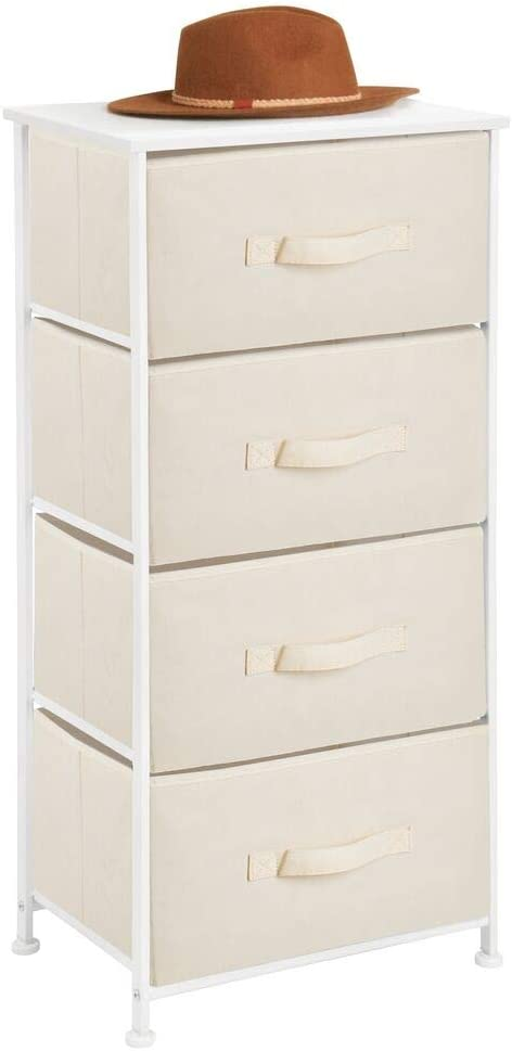 mDesign Storage Sales results No. 1 Dresser Furniture Unit Max 52% OFF - Standing Organizer Tall