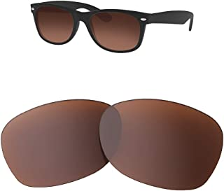 HEYDEFOAU Polarized Lenses for Ray-Ban RB2132 55MM Sunglasses - 9 Colors