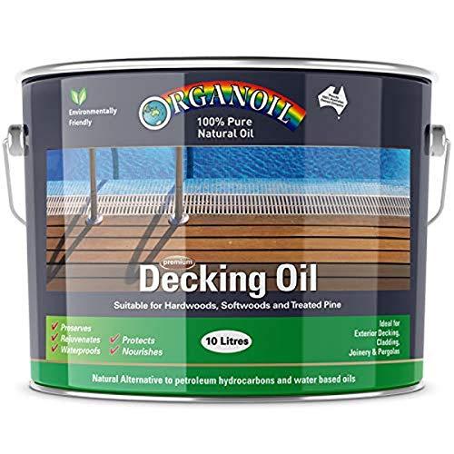 Organoil ORGDEC10 Tung Oil Decking Oil Standard 10Lt