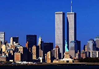 WORLD TRADE CENTER GLOSSY POSTER PICTURE BANNER 1 wtc twin towers new york