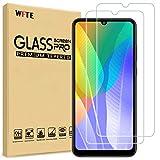 WFTE [2-Pack] Protector de Pantalla para Huawei Y6P/Huawei Y8P,9H Dureza,Huellas Dactilares Libre,Sin Burbujas,Cristal Templado Huawei Y6P/Huawei Y8P