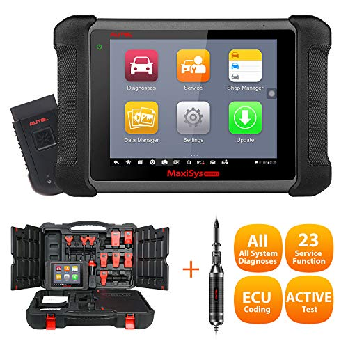 Great Features Of Autel Maxisys MS906BT OBD2 Scan Tool with ECU Coding, Auto Scan, Bi-Directional Co...