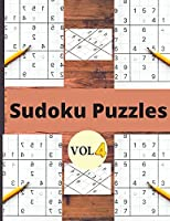 Sudoku Vol 4: Sudoku puzzle book for adults and kids/Sudoku Puzzles Easy to Hard vol 4