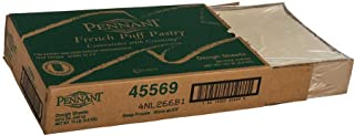 Pennant Foods Puff Pastry Dough Sheets, 12 Ounce -- 20 per case.
