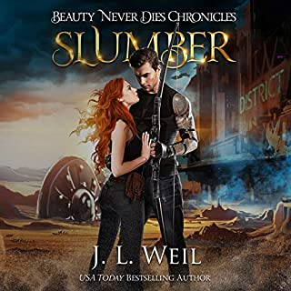 Slumber     Beauty Never Dies Chronicles, Book 1              By:                                                                                                                                 J.L. Weil                               Narrated by:                                                                                                                                 Caitlin Kelly,                                                                                        Gary Furlong                      Length: 8 hrs and 43 mins     95 ratings     Overall 4.4