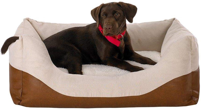 Doggy Dreams Dog Sofa L 80 x 60 cm Ekri Brown