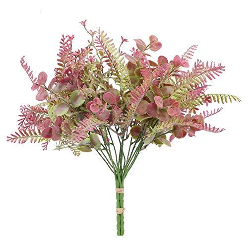 HUAESIN Künstliche Pflanzen Eukalyptus...