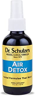 Dr. Schulze's | Air Detox | Stimulating Aroma That Disinfects & Purifies | Essential Oil Spray | Destroys Airborne Bacteria | Great for Home, Car, Office, Travel | Improve & Lift Spirit | 4 oz Bottle
