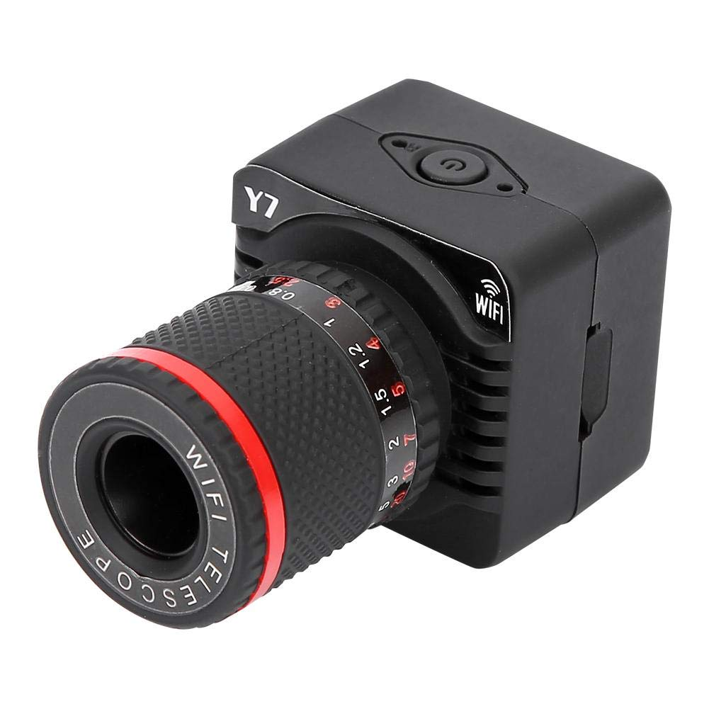 Telescopio Mini cámara Digital Y7 WiFi P2P Cámara con Zoom Micro ...