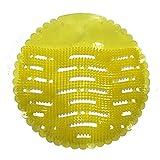 omdee trading Urinal Screen Mat (Medium, Yellow) -10 Pieces Set