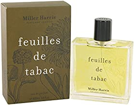 Feuilles De Tabac Perfume By Miller Harris 3.4 oz Eau De Parfum Spray For Women - 100% AUTHENTIC