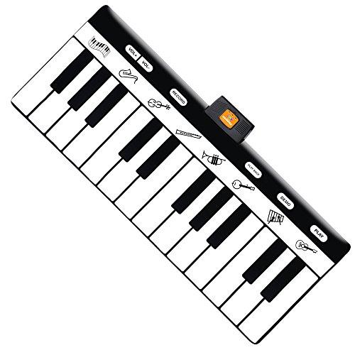 Play22 Keyboard Playmat 71' - 24 Keys Piano Play Mat - Piano Mat has Record,...