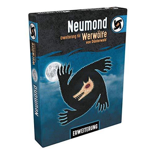 Asmodee Werwölfe von Düsterwald - Neumond (Auflage 2019), Erweiterung , Partyspiel, Deutsch