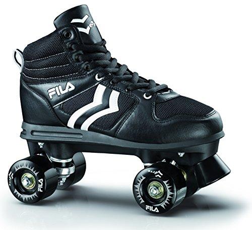 Fila Herren Verve Roller Skate, Schwarz, 36