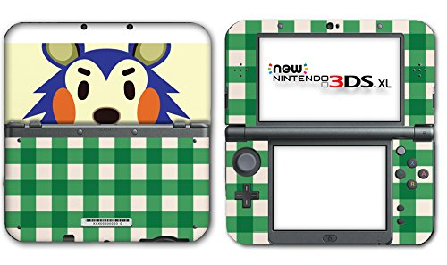 Animal Crossing Happy Home Designer Mabel Video Game Vinyl Decal Skin Sticker Cover for the New Nintendo 3DS XL LL 2015 System Console