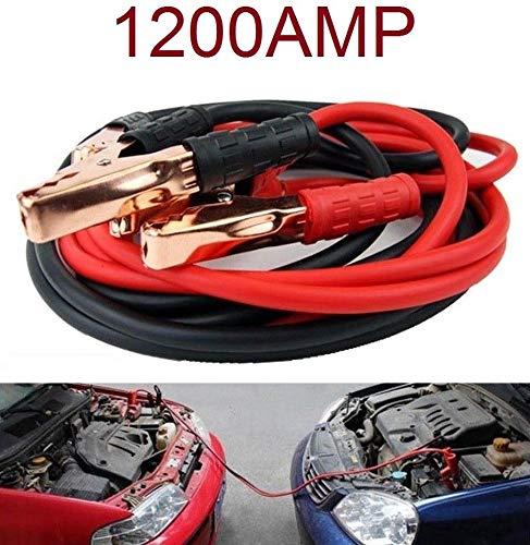 Booster Pinzas DE Coche para LA BATERIA DE Coche O Moto 1200AMP Cable DE Arranque
