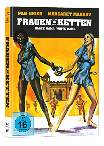 Frauen in Ketten - Black Mama, White Mama - Mediabook - Cover B - 2-Disc Limited Collector's Edition auf 333 Stück  (+ DVD) [Blu-ray]