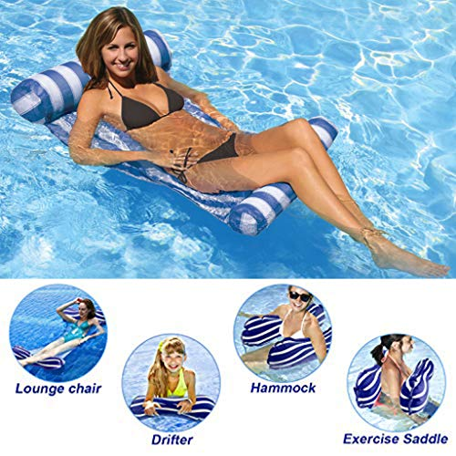 Great Deal! YUDIAN Multi-Purpose Pool Hammock (Saddle, Lounge Chair, Hammock, Drifter) Pool Chair, 4...