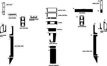 Rdash Dash Kit Decal Trim for Porsche 928 1978-1989 - Leather (Black)