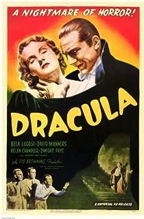 Dracula Movie Bela Lugosi 1931 Poster Print - 11x17