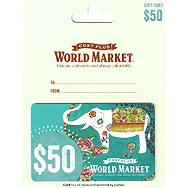 Cost Plus World Market Gift Card $50