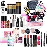 Kits de Maquillaje, Set de Cosméticos Todo en Uno, Set de Regalo de Maquillaje Kit de Inicio Completo con Sombras de Ojos, lápiz Labial, Kit de Cosméticos para Niñas Mujeres