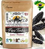 Nabür - Fave Tonka Brasiliani 100 Gr ⭐ Ricco, Aromatico, Delizioso ⭐ Piaceri dello chef