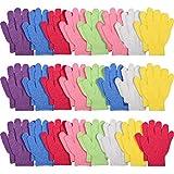 24 Paare Peeling Handschuhe Bad Peeling Handschuhe Körper Wäscher Doppelseitiger Peeling Handschuh...