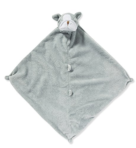 Angel Dear Grey Bulldog Blankie