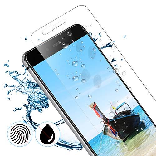 CRXOOX Panzerglas Schutzfolie für Huawei P10 Lite Panzerglasfolie - 9H Härte Folie, Anti Bläschen Anti Kratzen Ultra Dünner HD Displayschutzfolie Panzerfolie - 4