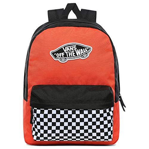 Vans REALM BACKPACK PAPRIKA-CHECKERBOARD, One Size