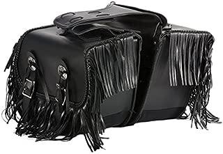 motorcycle saddlebags with fringe