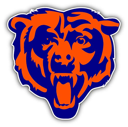 chicago bear stickers - 6