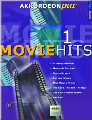 Movie Hits 1 – Partituras para Acordeón