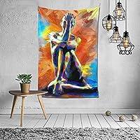 抽象的な裸の女性 タペストリー 壁掛け インテリア 多機能壁掛け ファブリック装飾用品 模様替え 部屋 窓カーテン 個性ギフト 新居祝い 152cmx102cm