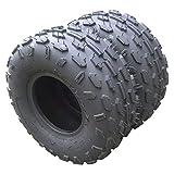 Set of 2 ATV UTV Tires 14570-6 4PR Tubeless 145-70-6 Sports LRC Bias Tires