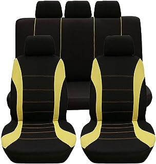 Suchergebnis Auf Für Schwarz Gelbe Sitzbezüge Auflagen Autozubehör Auto Motorrad