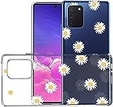 SUMIXON Funda para Galaxy S10 Lite/Galaxy A91, fina, transparente, TPU, antigolpes, compatible con...