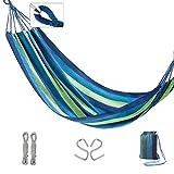 LZL Hamaca Acampar Hamaca con Cuerdas del portátil Ligero de Tela de paracaídas por Mochilero, Viaje, Playa, Yard y Supervivencia al Aire Libre Balancearse (Color : A)