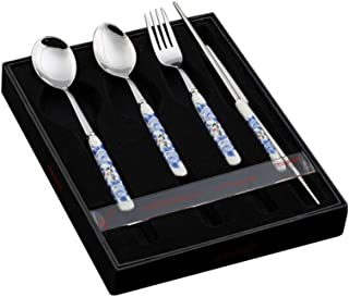 Aofocy Fourchette /à Diner pour Fourchette /à Chat en Acier Inoxydable de premi/ère qualit/é pour Dessert /à Salade de Fruits Noir