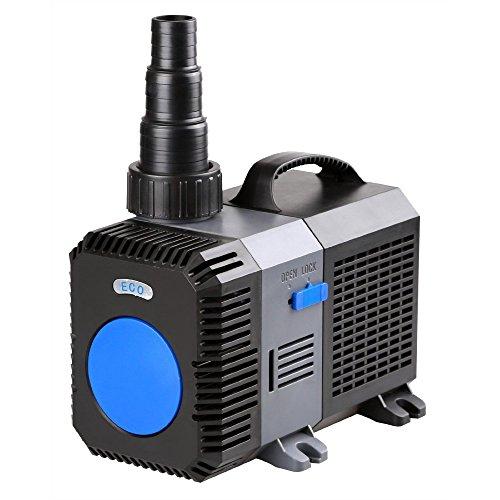 AquaOne CTP-10000 Aquarium & Teichpumpe 80 Watt Eco Motor 10000 l/h Förderpumpe, Pumpe, Aquariumpumpe GERINGER STROMVERBRAUCH!