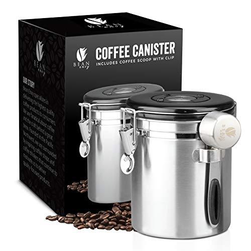 Bean Envy Airtight Coffee Canister - 16 oz -...