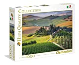Clementoni-39456 Puzzle 1000 Piezas Toscana, Multicolor (39456.2)
