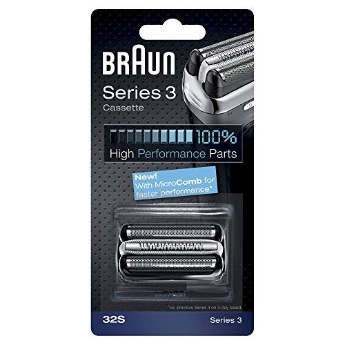Braun - Combipack 32S - Láminas de recambio + portacuchillas para afeitadoras Nueva Series 3 300/360/380/390cc