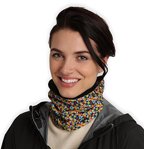 Womens Neck Warmer - Winter Fleece Neck Gaiter, Ski Tube Scarf - Cold Weather Face Mask Cover for...